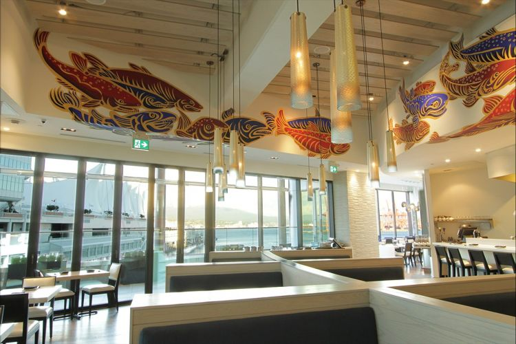 Restaurant Custom artwork view